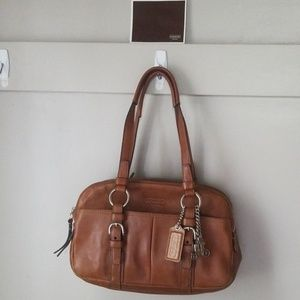 Coach leather purse handbag shoulder purse